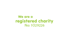 We are a registered charity - No: 1029226